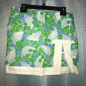Vintage Lily Pulitzer Seashell Skirt